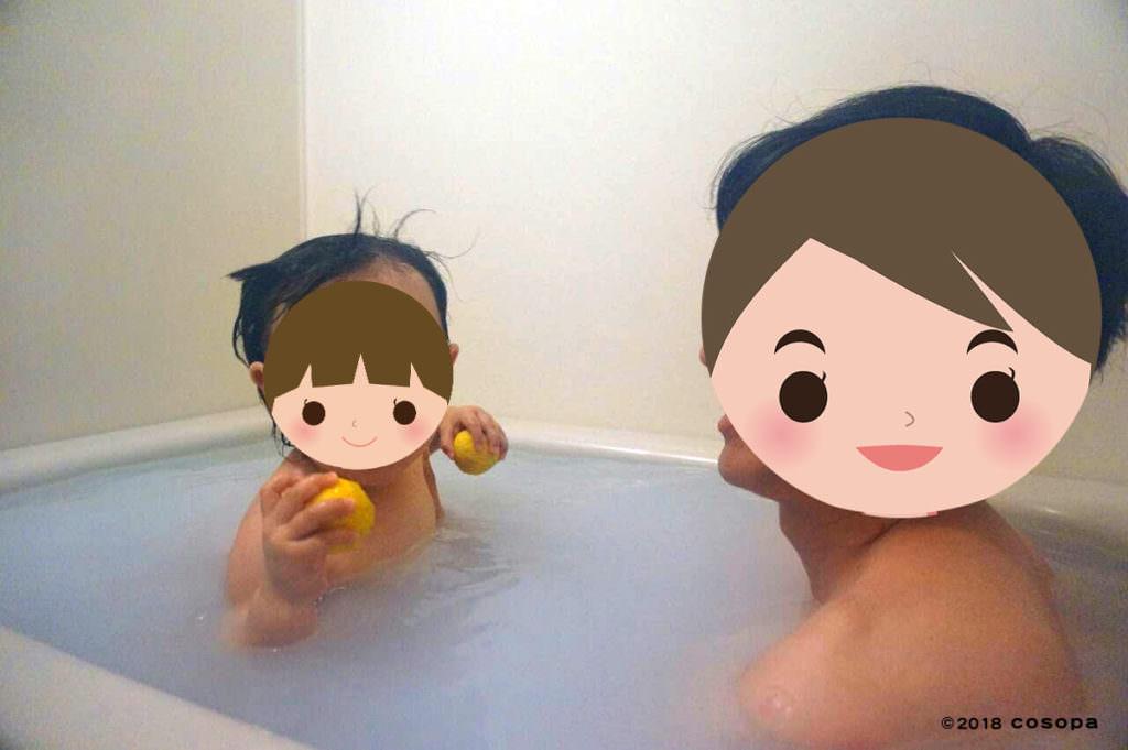 ワンオペでないのなら、さきにお風呂に使って待ってるのが良いでしょう。