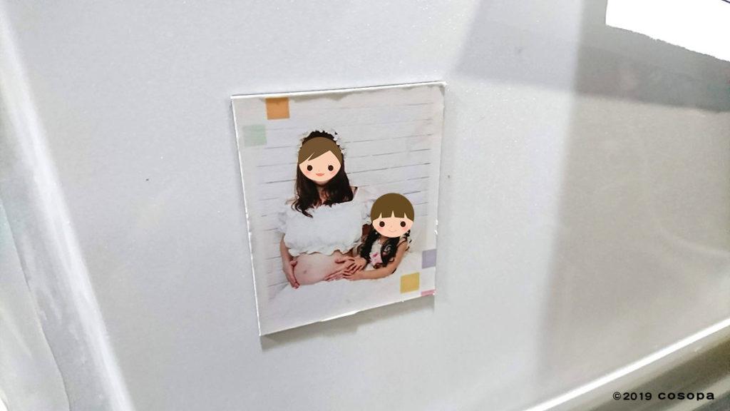 写真データ購入のために写真小物として安価なマグネットを購入
