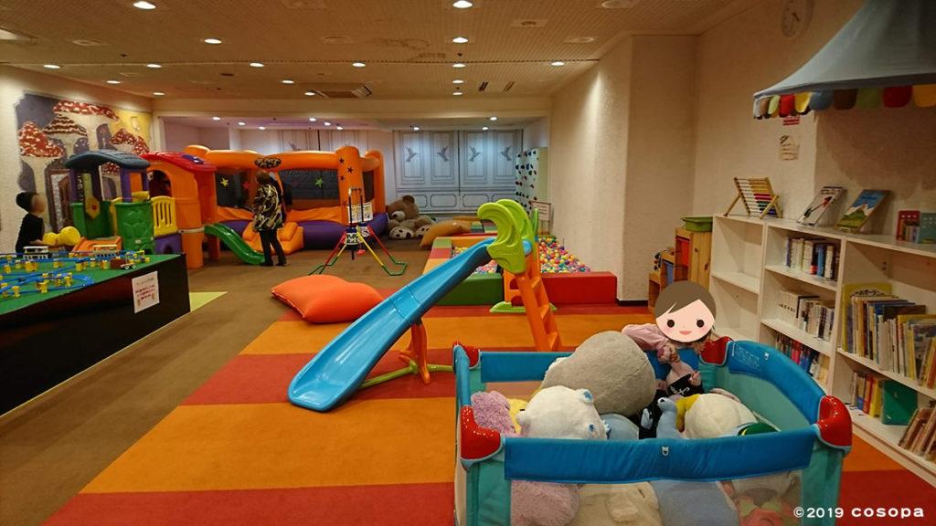 プール以外にもキッズルームなど子連れにありがたい施設が多いです。